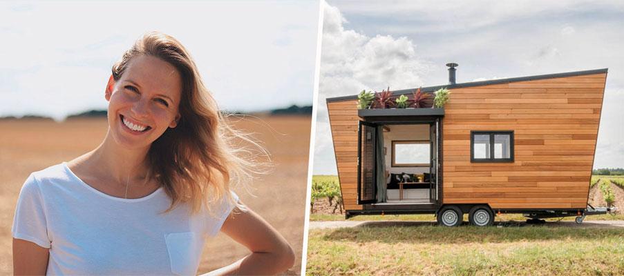 Fanny va faire un tour de France en tiny house pour sensibiliser au zéro déchet et à l'habitat écolo