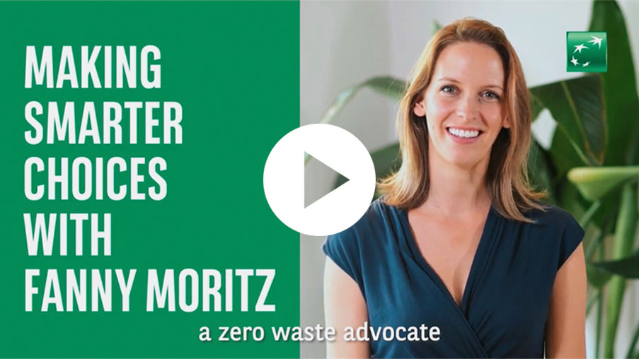Making Smarter Choices with Fanny Moritz, video for BNP Paribas