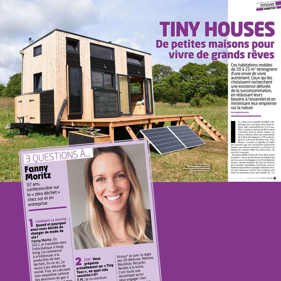 Tiny houses, de petites maisons pour vivre de grands rêves