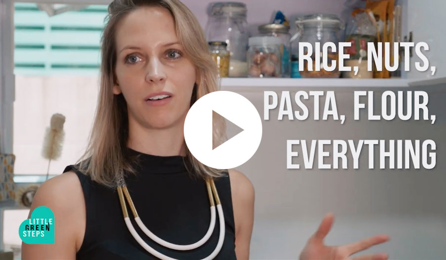 Fanny Moritz teaches us how to live zero waste - starting by making swaps in your kitchen