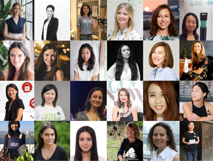 25 Green Queens fighting for a better Hong Kong & a better world