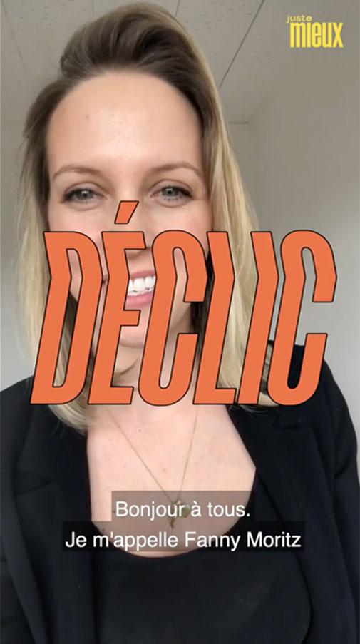 Interview de Fanny Moritz pour Juste Mieux