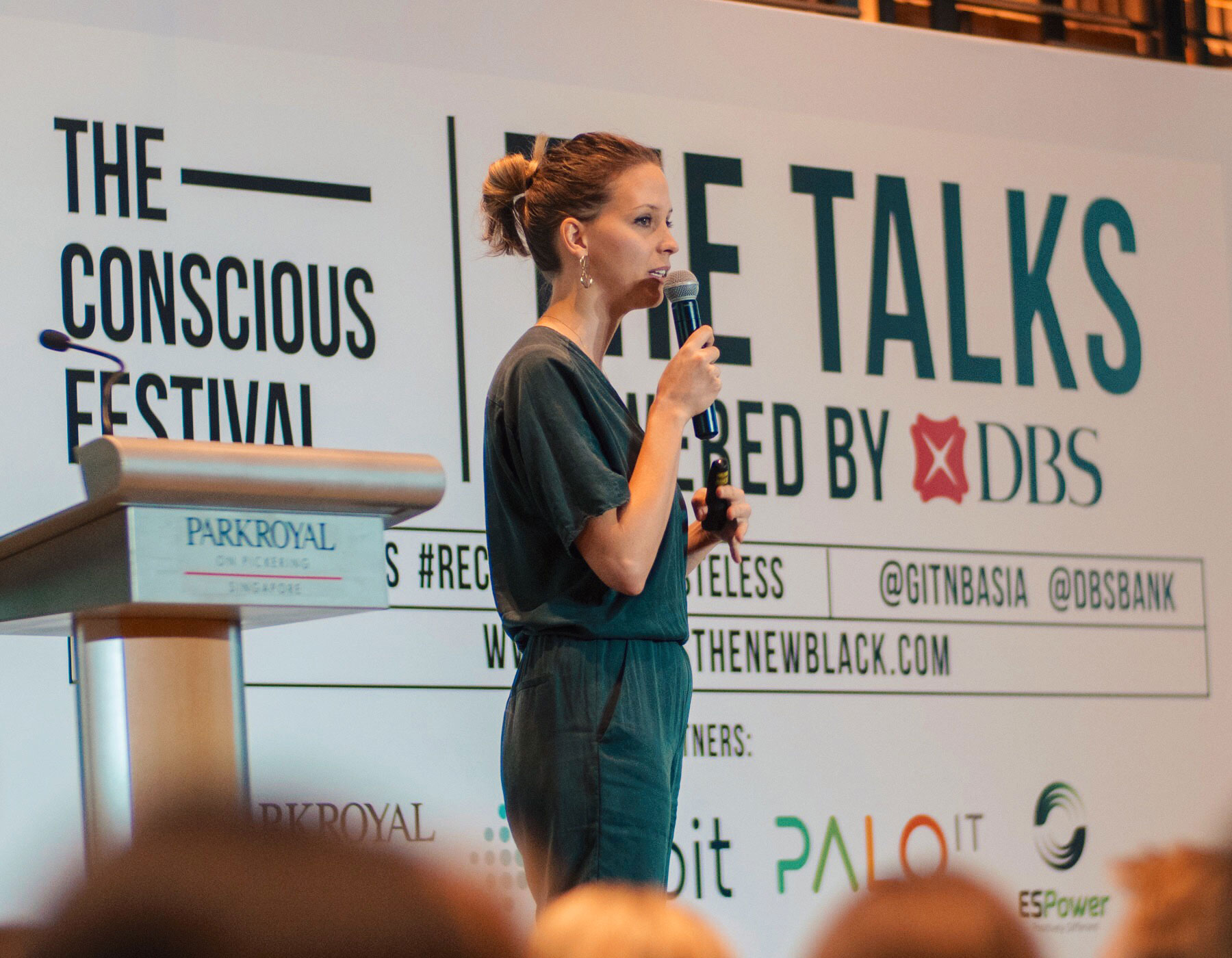 Talk about Zero Waste and sustainability at The Conscious Festival - Singapore - April 2018
