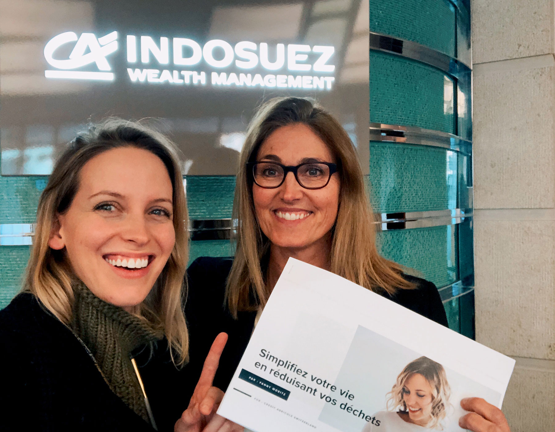 Talk about Zero Waste at Indosuez - Suisse - January 2020