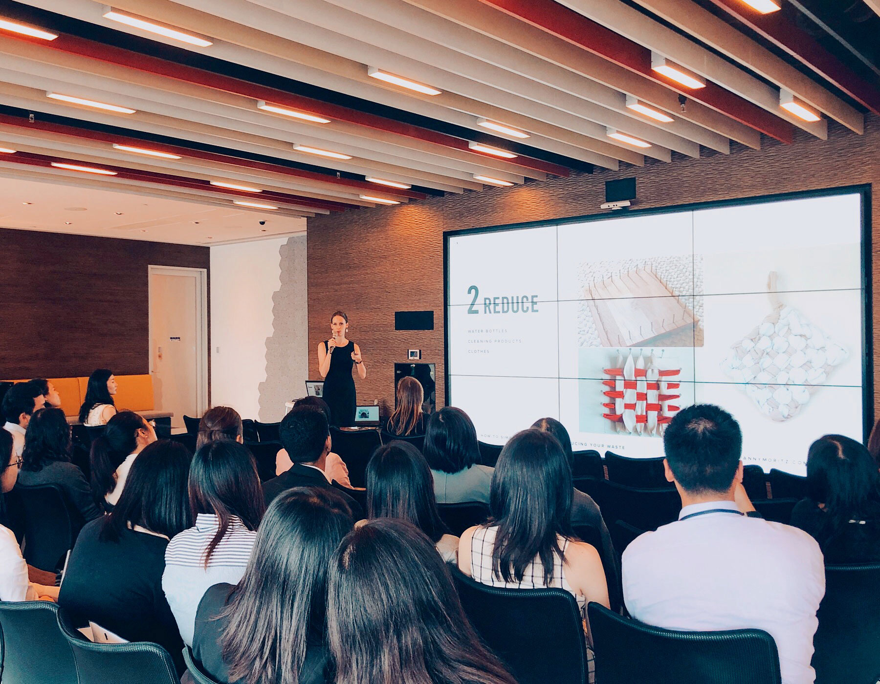Talk about Zero Waste and sustainability at KPMG - Hong Kong - May 2019