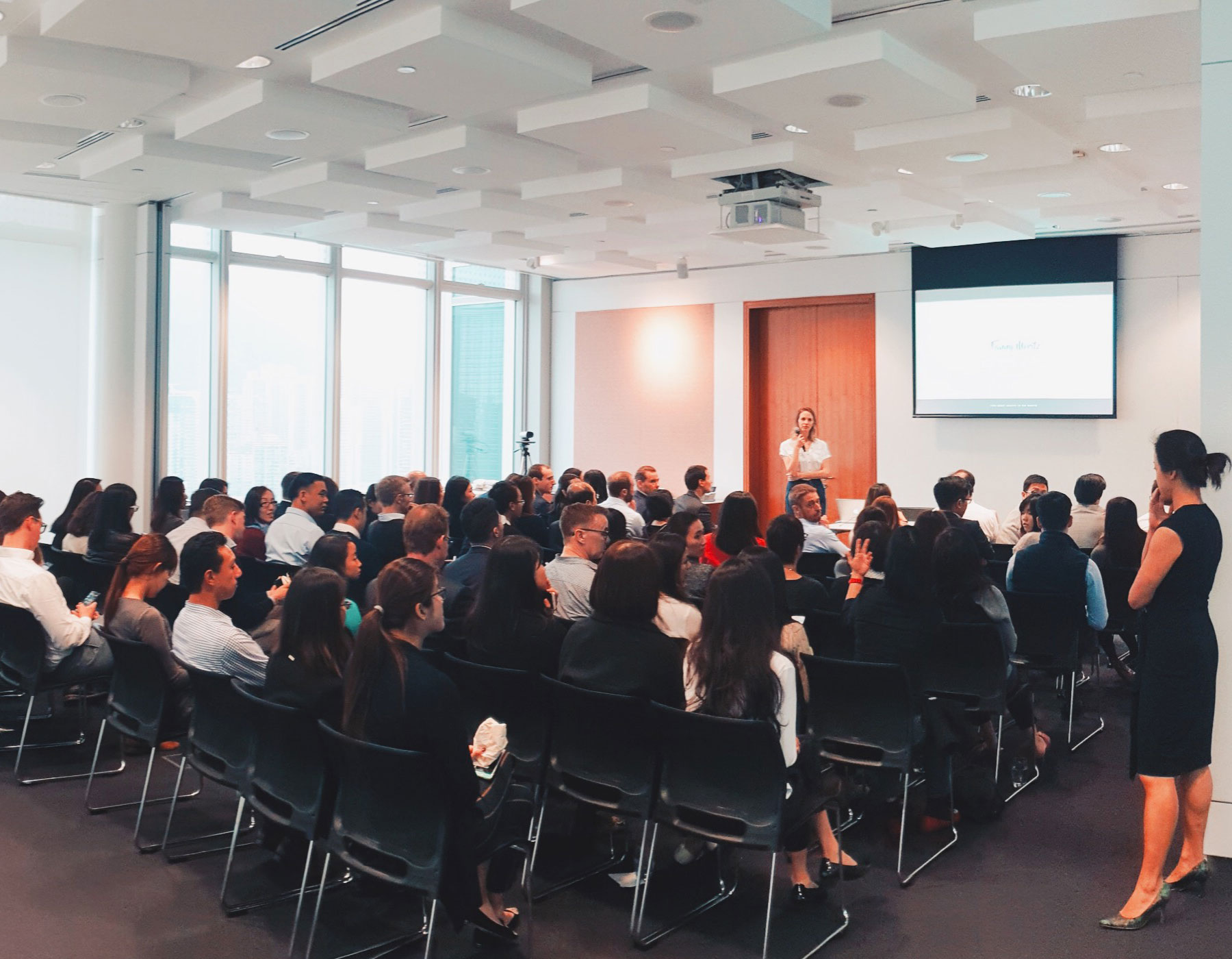 Talk about Zero Waste and sustainability at UBS - Hong Kong - February 2019