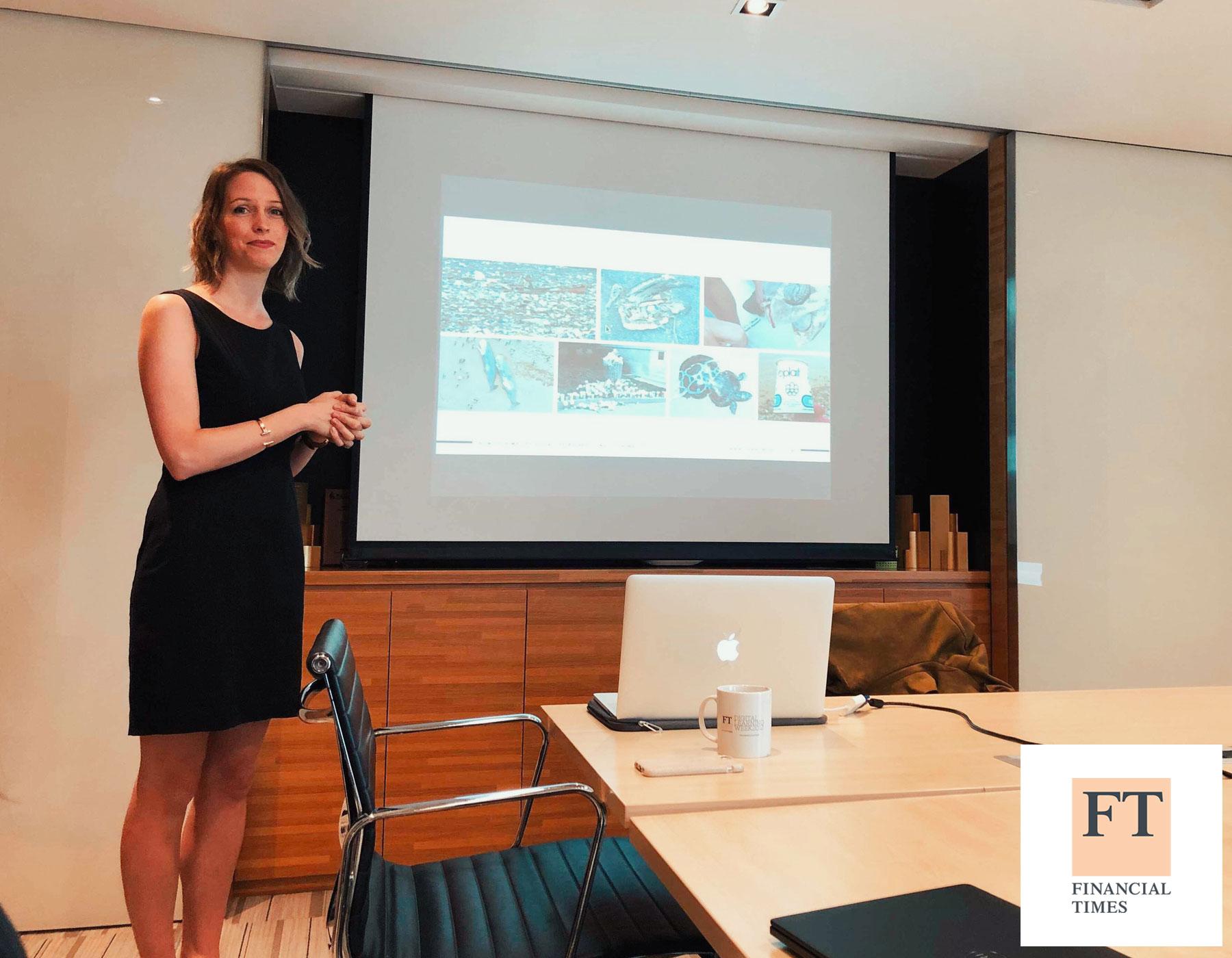 Conférence sur le Zéro Déchet à  Financial Times Hong Kong