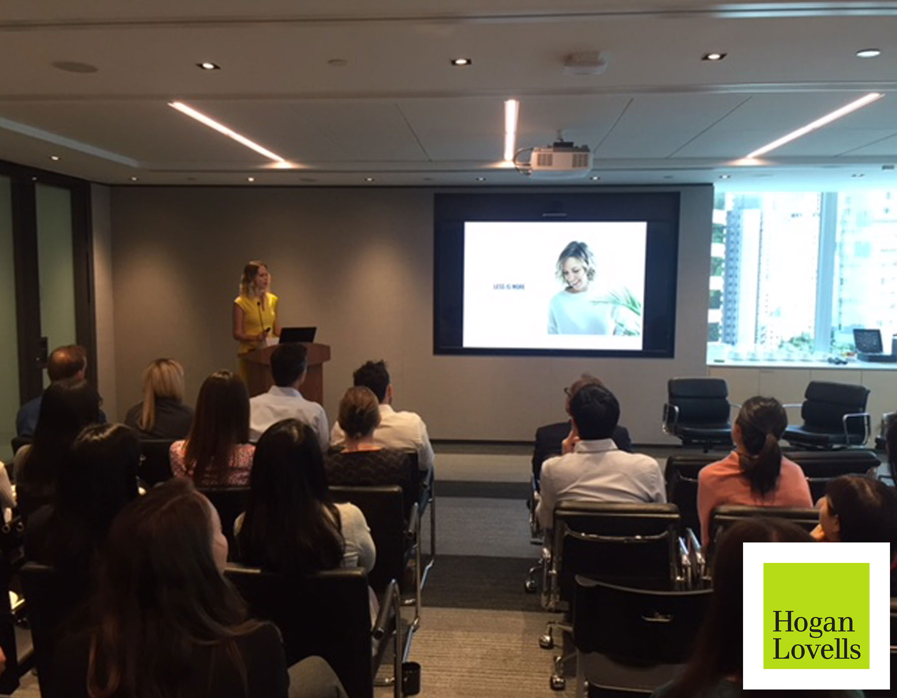 Talk about Zero Waste and sustainability at Hogan Lovells - Hong Kong - May 2018