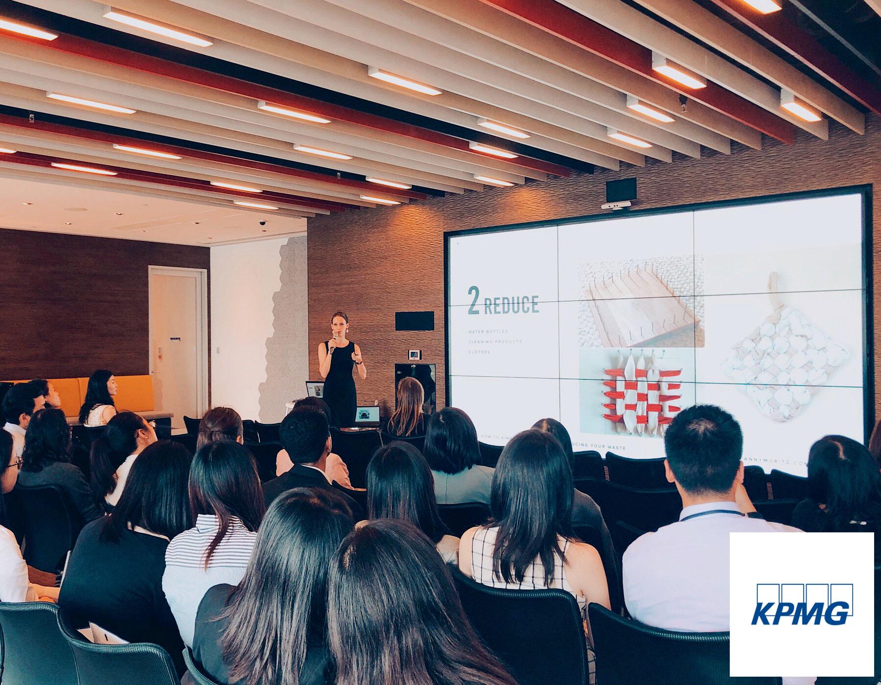 Conférence sur le Zéro Déchet à  KPMG Hong Kong