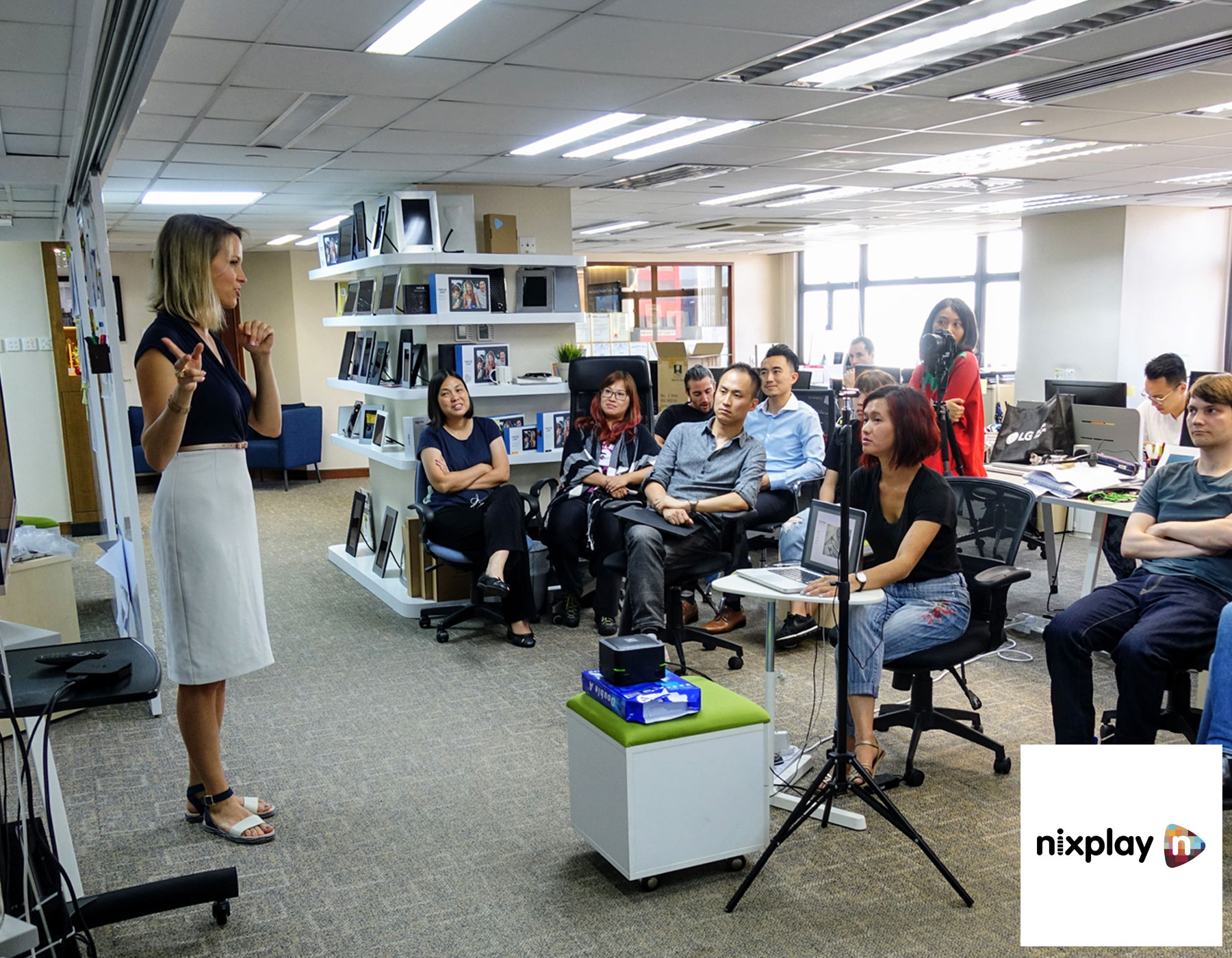Talk about Zero Waste and sustainability at Nixplay - Hong Kong - July 2018